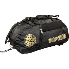 Sportovní taška Top Ten WAKO M - černá/zlatá černá