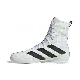 Box Boty adidas Box Hog 3 - bílá černá 7,5