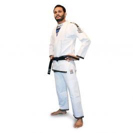 Dětské Top Ten kimono na brazilské jiu jitsu Easy - bílá bílá A0