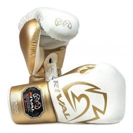 Boxerské rukavice Rival Proffesional - bílá/zlatá bílá 16