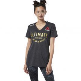 Reebok UFC Fight Night Champ Walkout Jersey dámské triko - černá černá S