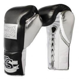 Paffen Sport boxerské rukavice PRO MEXICAN Professional - černá/stříbrná černá 10