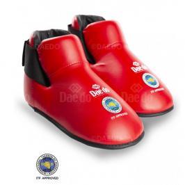 Chrániče nohou Daedo ITF - červená červená S