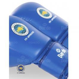 Boxerské rukavice Daedo ITF - modrá modrá 10