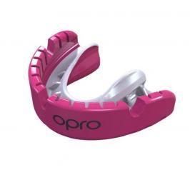 Chrániče zubů na rovnátka - OPRO UFC - GOLD level - růžová růžová