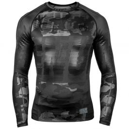 Venum Tactical Rash Guard - černá/maskáč černá S