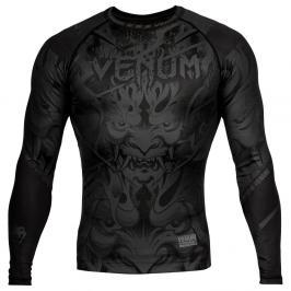 Venum Devil Rash Guard - černá černá S