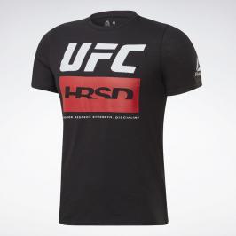 Reebok UFC Fight Week triko - černá černá S