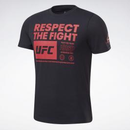 Reebok UFC Fan Gear triko - černá černá XL