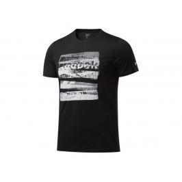 Reebok CBT Core Boxing triko - černá černá S