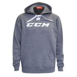 Mikina CCM Hockey Lace Grey
