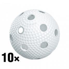 10x florbalový míček Salming Aero Plus