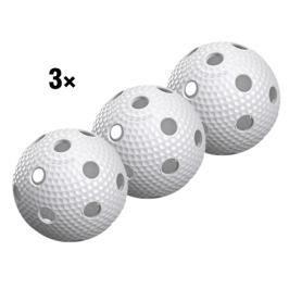 3x Florbalový míček Salming Aero Plus