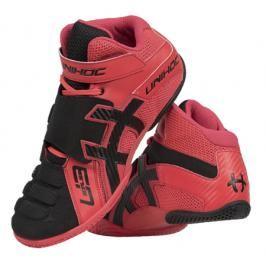Brankářská obuv Unihoc U3 Goalie Červeno-černá