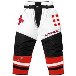 Kalhoty Unihoc Feather Bílo-červené