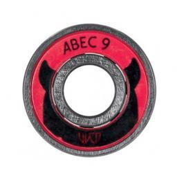 Ložiska Powerslide WCD ABEC 9 Freespin sada 16 ks