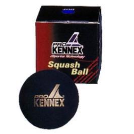 Míček pro squash Pro Kennex - 1 modrá tečka 1 kus