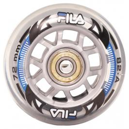 Inline kolečka Fila 72 mm 8ks + ložiska ABEC 5
