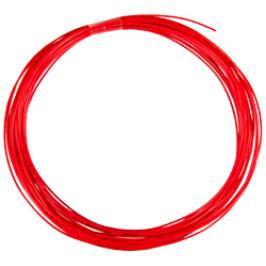 Squashový výplet Tecnifibre String X-One Red 1,18 mm (9 m) - stříhané balení