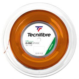 Squashový výplet Tecnifibre String X-One Orange 1,18 mm - role 200 m
