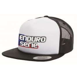 Kšiltovka Enduro bílá