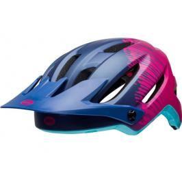 Dámská cyklistická helma BELL Hela tmavě modrá-růžová