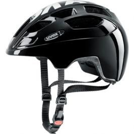 Dětská cyklistická helma Uvex Finale Junior LED černá-bílá