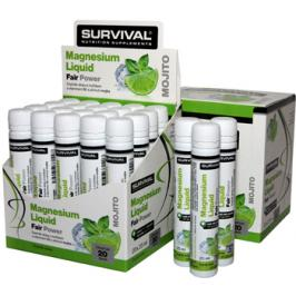 Survival Magnesium Liquid Fair Power 20 x 25 ml