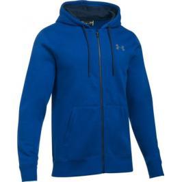 Pánská mikina Under Armour Storm Rival Cotton Full Zip Blue