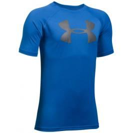 Dětské tričko Under Armour Tech Big Logo Blue
