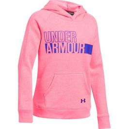 Dětská mikina Under Armour Favorite Fleece Hoody Pink