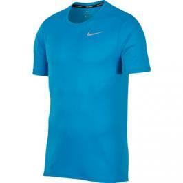 Pánské tričko Nike Breathe Run Blue