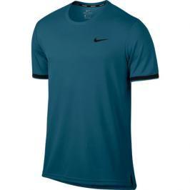 Pánské tričko Nike Court Dry Tennis Top Green Abyss