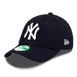 Dětská kšiltovka New Era Basic 9Forty MLB New York Yankees Black/White