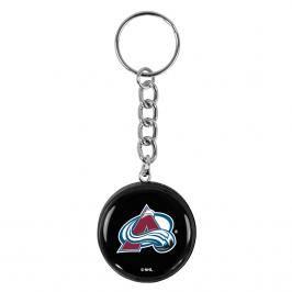 Přívěsek na klíče SHER-WOOD puk NHL Colorado Avalanche