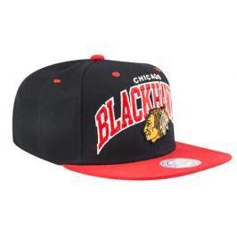 Kšiltovka Mitchell & Ness Team Arch NHL Chicago Blackhawks