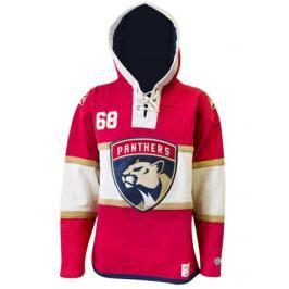 Pánská mikina s kapucí Old Time Hockey Player Lacer NHL Florida Panthers Jaromír Jágr 68