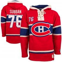 Pánská mikina s kapucí Old Time Hockey Player Lacer Montreal Canadiens P.K. Subban 76
