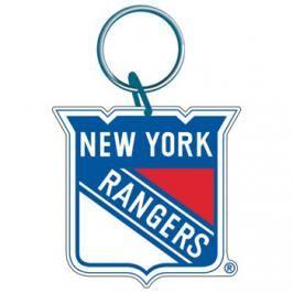 Akrylová klíčenka premium NHL New York Rangers