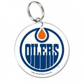 Akrylová klíčenka premium NHL Edmonton Oilers