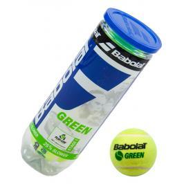 Dětské tenisové míče Babolat Green pro 7-9 let 3 ks