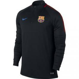 Pánské fotbalové tričko Nike Dry Squad Drill FC Barcelona černé