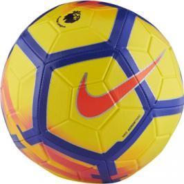 Míč Nike Premier League Strike Football Yellow Purple