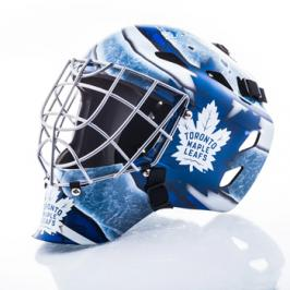 Mini brankářská helma Franklin NHL Toronto Maple Leafs