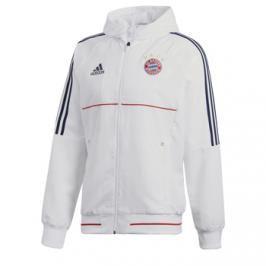 Pánská sportovní bunda adidas Pre Match FC Bayern Mnichov bílá