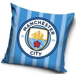 Polštářek Manchester City FC Stripes