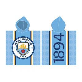 Dětské pončo Manchester City FC