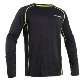 Tričko Salming Run LS Tee Wool Men