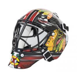 Mini brankářská helma Franklin NHL Chicago Blackhawks
