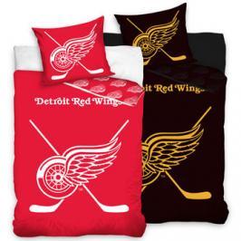TipTrade bavlna svíticí povlečení NHL Detroit Red Wings 140x200 70x90